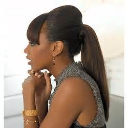 Galerry cute ponytail hairstyles for black hair