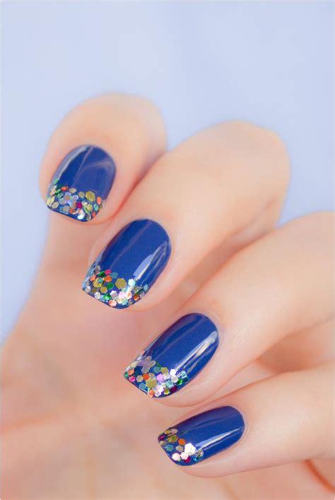imagenes de uñas pintadas en colores dise 241 os para decorar tus u 241 as con tonalidades de color azul