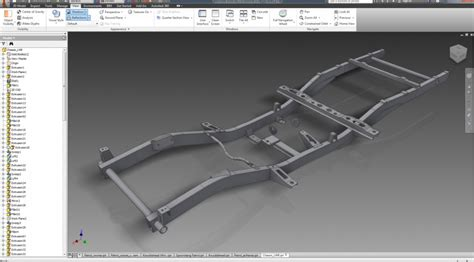 3 Car Garage Design part 7 drawing the chassis and axles suzuki 4wd