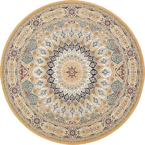 10 ft area rugs unique loom nain design beige 10 ft x 10 ft area