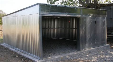 box auto box auto prefabbricato in lamiera zincata componibile a