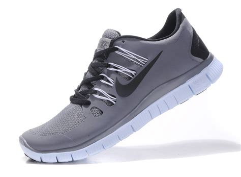 black and gray nike running shoes nike free 5 0 mens gray black running shoes free shipping