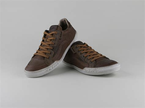 Chaussures Kickers Homme by Chaussures Kickers Jiuji Lacets Marron Cuir Lisse