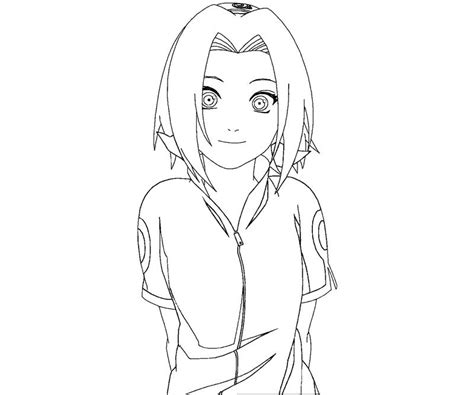 sakura haruno 7 coloring crafty teenager