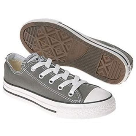 Hdt Shoes Converse All Low Grey Box converse chuck low top charcoal grey canvas new