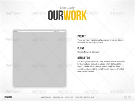 rework template 77 best images about keynotes on behance