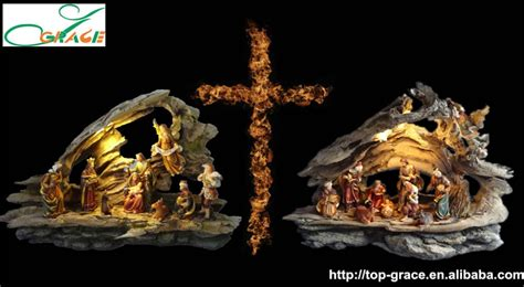 lighted outdoor nativity best selling resin outdoor lighted nativity sets buy