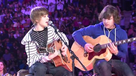 justin bieber quotev one day justin bieber one time live we day toronto 09 youtube