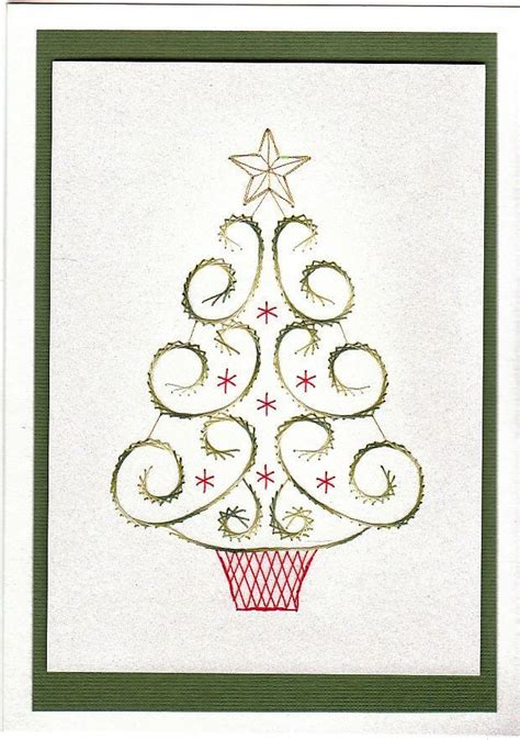 pinterest pattern cards free paper stitching cards patterns loved this tree