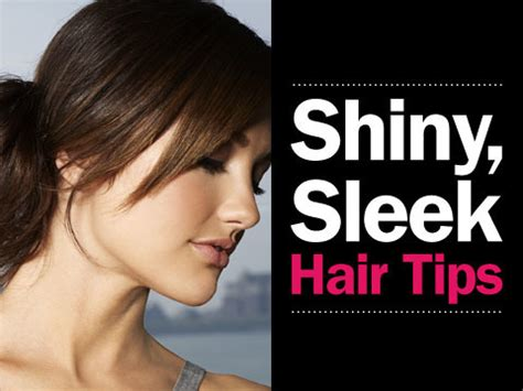 14 Tips For Shiny Hair by Shiny Sleek Hair Tips Clip