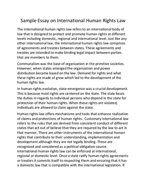 Human Rights In Malaysia Essay sle essay on international human rights