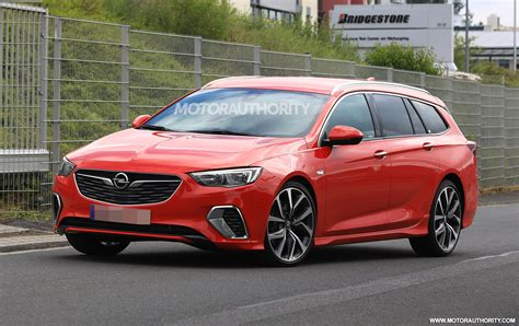 opel commodore 2018 2018 opel insignia gsi sports tourer spy shots