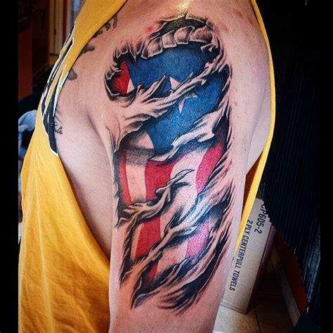 50 Independent Patriotic American Flag Tattoos I Love Usa Patriotic Tattoos