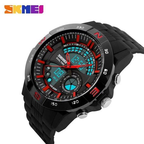 Jam Tangan Pria Wanita Original Ohsen Waterproof Anti Air Led Digital casio shop center