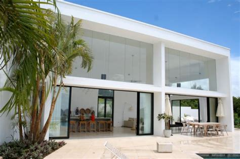 Contemporary House Designs Atelier House Barbados Piers Sherlock Project Management