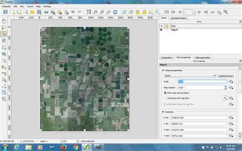 qgis print layout printing over sized qgis map geographic information