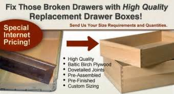 Replacement Kitchen Cabinet Drawer Boxes Custom Replacement Cabinet Drawer Boxes Home Eye Candy
