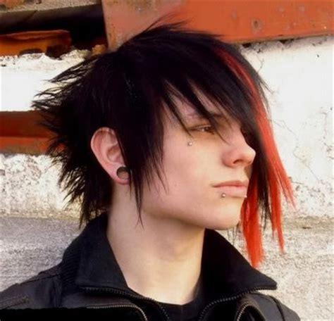 emo hairstyles for long hair boy teenage boy funky hair styles