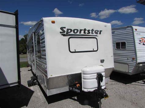 travel trailer with garage 2004 playmor sportster 310 travel trailer toyhauler