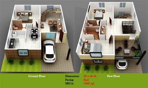 east facing duplex house floor plans duplex house floor plans in bangalore
