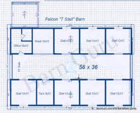 Barn Layouts by Free Home Plans Horse Barn Floorplans