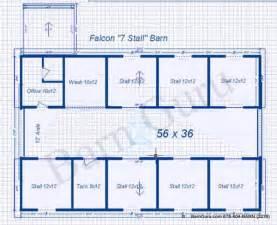 free home plans horse barn floorplans
