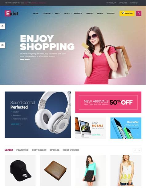 live theme editor opencart 12 best 12 of the best free premium opencart themes
