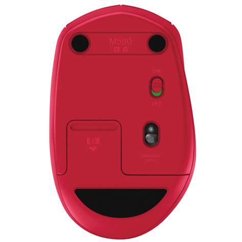 Original Logitech M590 Multi Device Wireless Mouse Device Silent logitech wireless mouse m590 multi device silent rubis souris pc logitech sur ldlc