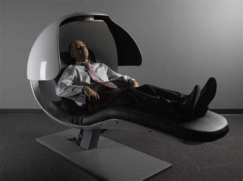Energy Pods slaap lekker de energypod stoel is speciaal ontworpen