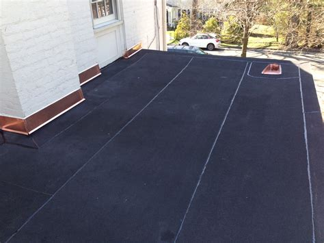 Chapaqua by New York Roofer Contractor 187 New Flat Roof With Copper