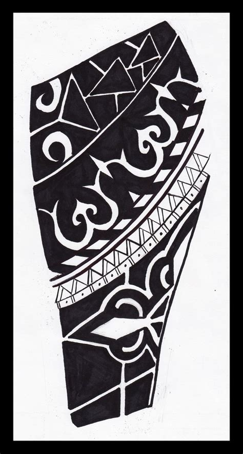 african tribal sleeve tattoos tribal sleeve design