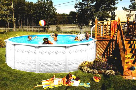 Above Ground Pool Decks Idea For Your Backyard Decor Front