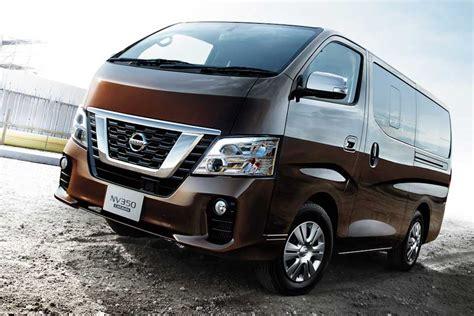 nissan urvan 2017 nissan nv350 urvan gets refreshed for 2018 auto industry
