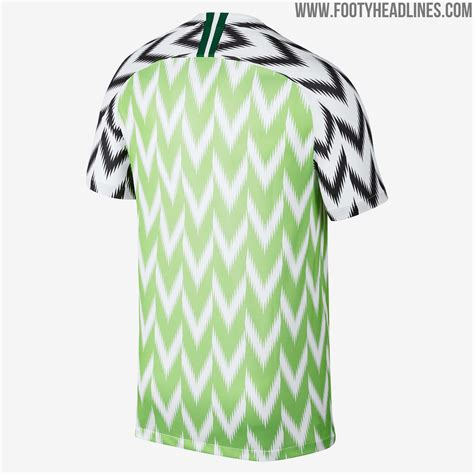 Nigeria World Cup 2018 Nigeria 2018 World Cup Home Kit Revealed Footy Headlines
