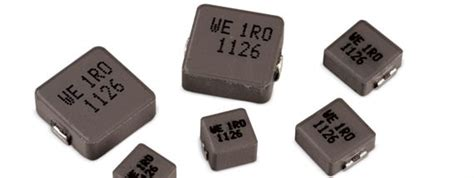 smd inductor high current smd storage inductor with high saturation current and compact design w 252 rth elektronik