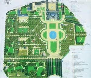 les plans du jardin du luxembourg 6e