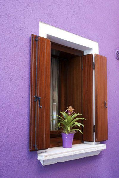 window sill boxes window in burano venice colours venice