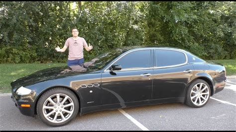 Buying A Used Maserati A Used Maserati Quattroporte Is The Best Way To Look Rich