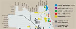 Chicago Gang Territory Map by Uptown Chicago Violence Newhairstylesformen2014 Com