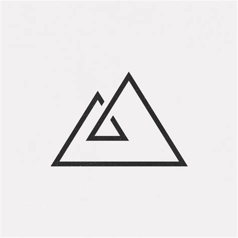 simple triangle tattoo 10 best triangle geo shapes images on