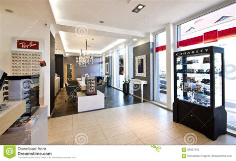 Interior Shop Names by Luxurious Optician Shop In Poland Editorial Image Image