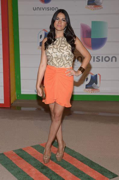 Mini Dress Wedges Galilea maite perroni photos photos arrivals at the premios