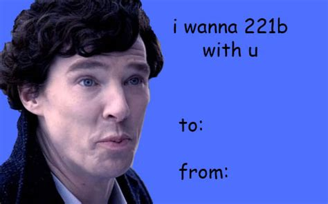 21 valentines for the quot sherlock quot fan in your