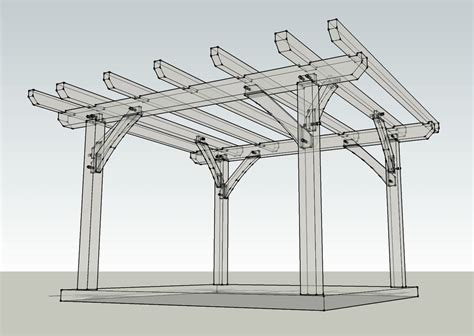 timber pergola plans timber frame pergola plans outdoor goods chsbahrain