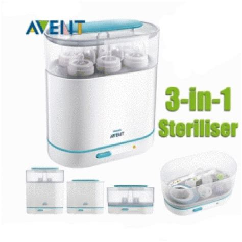 philips avent 3 in 1 sterilizer malaysia murah best price