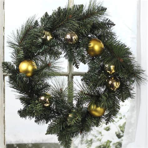christmas artificial pine wreath wreaths floral
