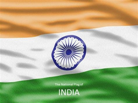 Flag Of India Template India Powerpoint Template