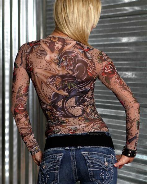 tattoo full body shirt hellanbach store sleeves full body tattoo shirt