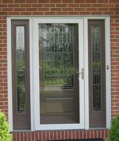Therma Tru Patio Doors Reviews Therma Tru Fiber Classic Oak Collection Fiberglass Door