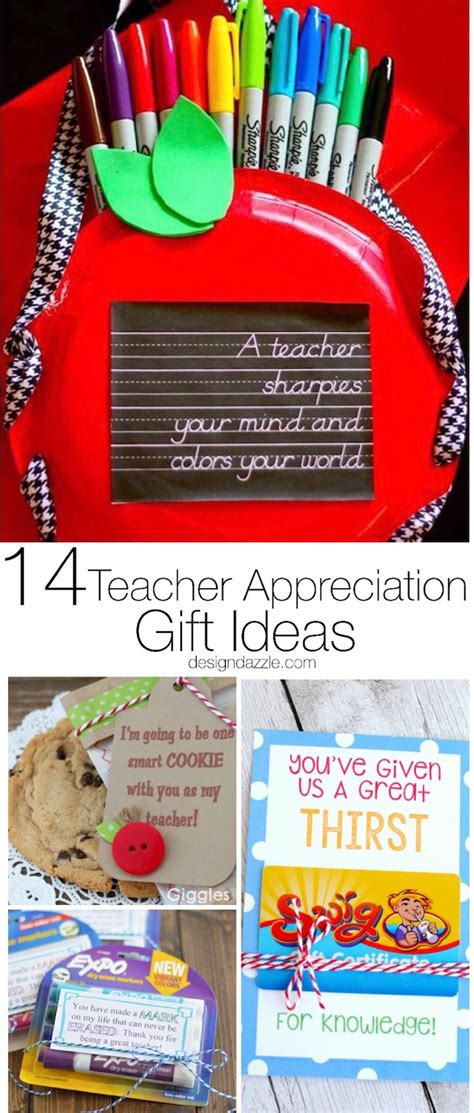 How Much To Spend On Teacher Gift Cards 2016 - 14 phenomenal teacher appreciation gift ideas design dazzle